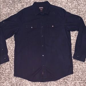 Michael Kors Tailored Fit Casual Button Up